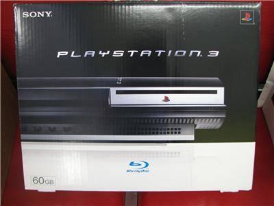 SONY PLAYSTATION 3 game system PS 60GB NEW in BOX NIB