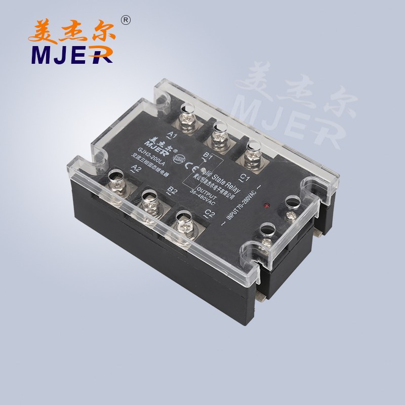 Three Phase Solid State Relay SSR AC/AC Gjh3-200la
