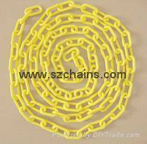 Plastic chain,Plastic stanchions, warning chain,Link Chains,chains, Roadway Safety chains