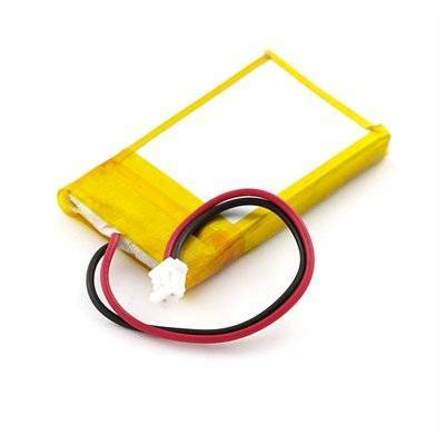 Li-polymer Battery with 4.2V Charging Voltage and 500 Times Life Cycle, Can be Used in GPS