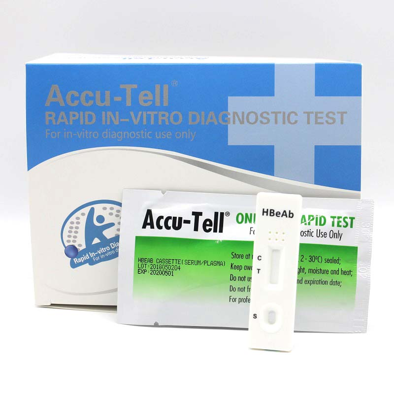 Accu-Tell® HBeAb Rapid Test Cassette (Serum/Plasma)