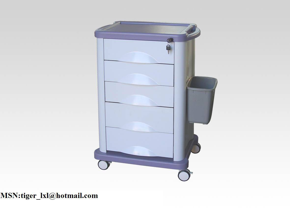 ABS medical trolley