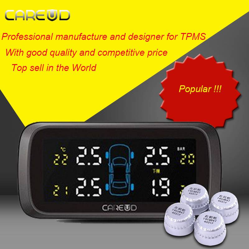 Popular New type High sensitive internal car tpms with CE and RoHS certificate car tire detector