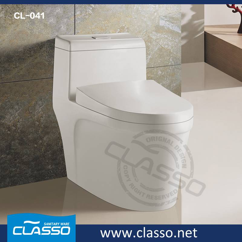 Hot sale CLASSO siphonic toilet new design water closet CL-041