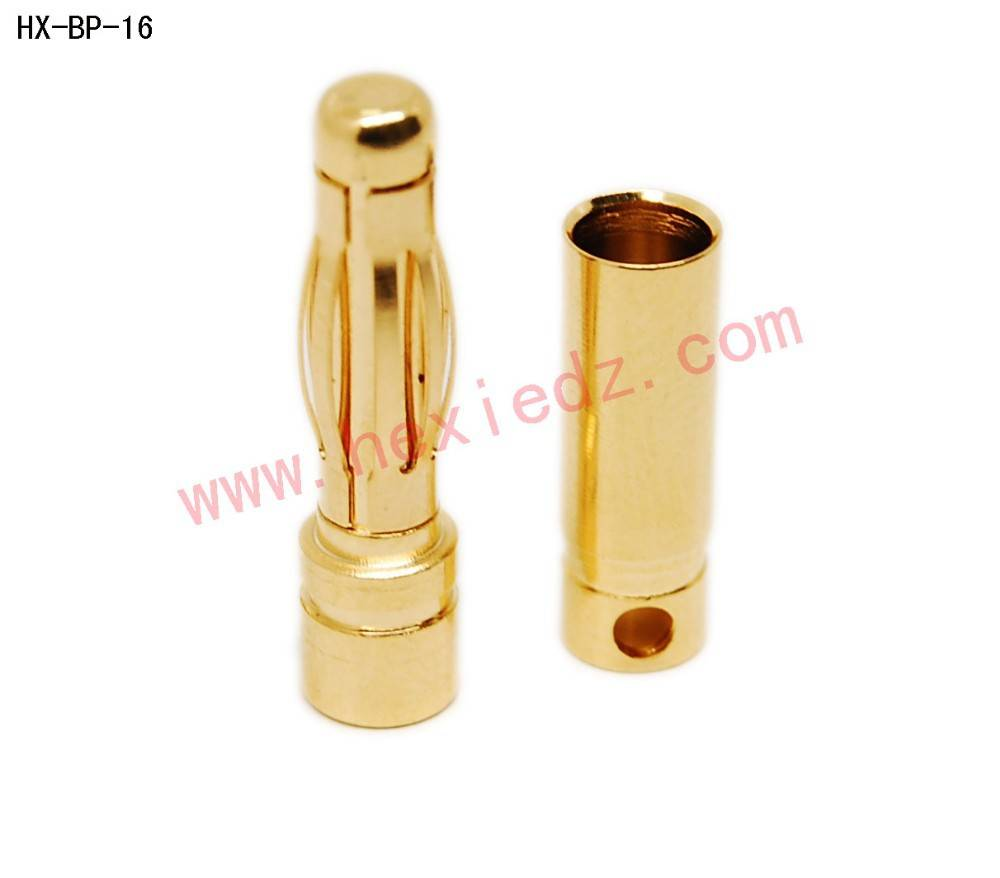 4.0mm bullet connector male and female