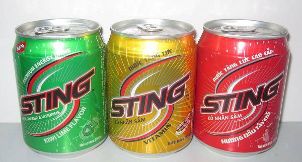 Sting Ginseng Energy Drink