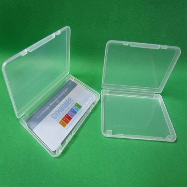 plastic pp business name card case