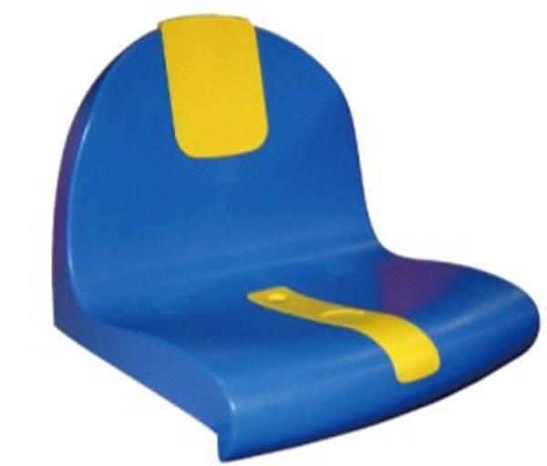 2015 new designed blow molded HDPE plastic stadium seats