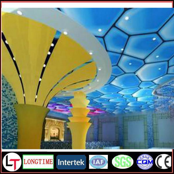 White UV Printing Ceiling Film Hot Sale PVC Stretch Ceiling Film