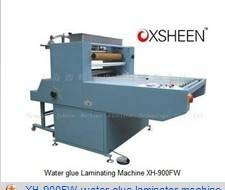 900FW water glue laminator machine