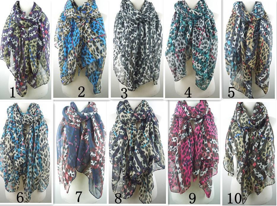 Hot Sale2015 new spring leopard print scarves PG894
