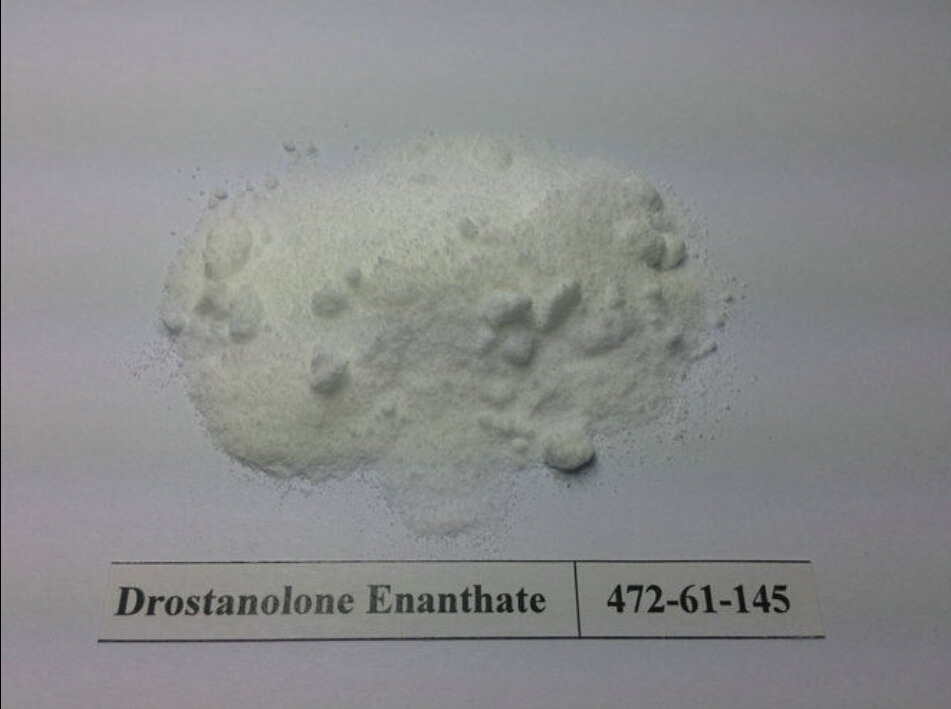 Natural Drostanolone Enanthate Raw Steroid Powders / Drolban Powders For Bodybuilding CAS472-61-145