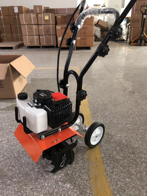 Agricultural equipment gasoline power mini tiller cultivators