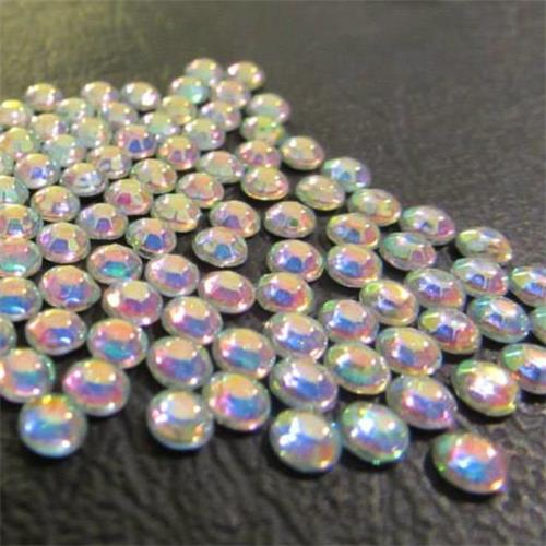 High quality Chinese iron on rhinestones/ strass for clothing/ custom t-shirts crystal AB ss6 /ss10/