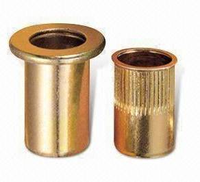 Steel Rivet Nuts Open Type Round Body
