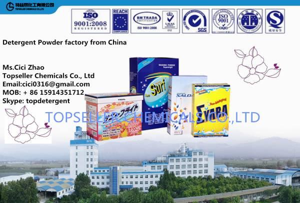 Japan 1kg paper box packing cartoon Detergent Powder good quality washing powder for Japan