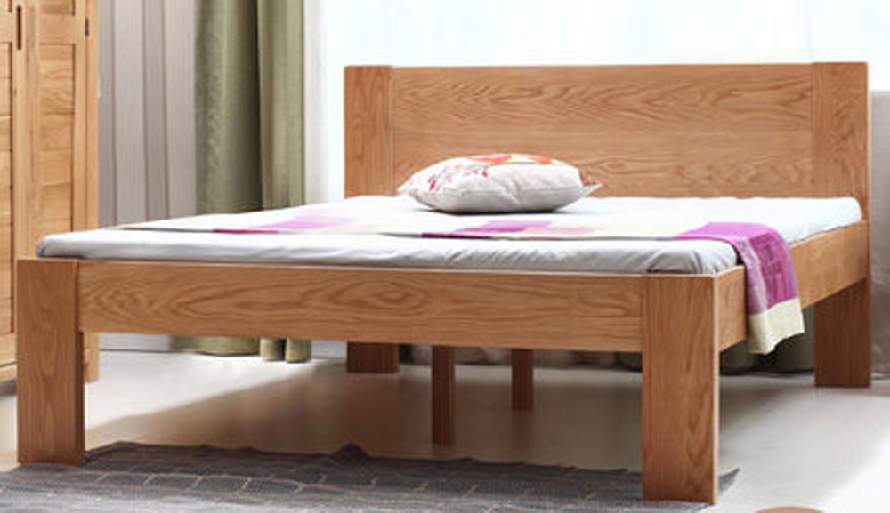 Oak King Size Bed: bedroom sets, wooden furniture, Oak bedroom furniture