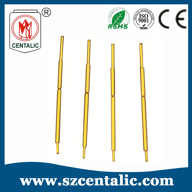 SCPC028 Series 6.7mm Total Length Semiconductor Test Probe Pin