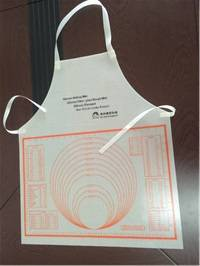 New Fashion Anti-dirty Waterproof Kitchen Kneading Dough Cooking Silicone Apron
