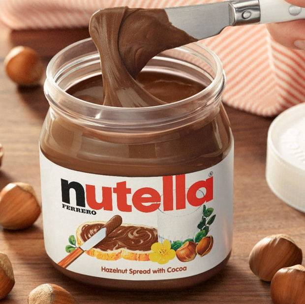nutella chocolate and other ferrero chocolates