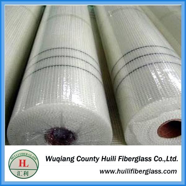 White coated fiberglass mesh fabric and roofing fiberglass mesh