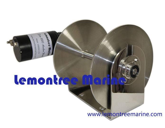 Lemontreemarine electric boat anchor drum winches