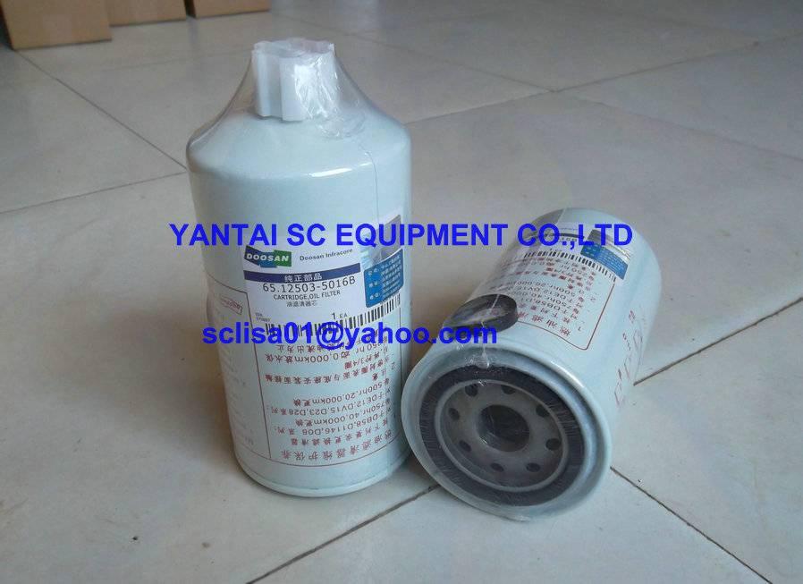 DOOSAN filters 65.12503-6029 for loader, excavator