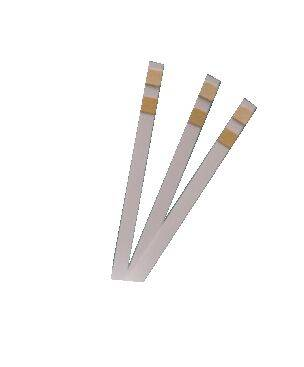2 parameters urine test strips of Glucose and Ketone Factory Sale Directly