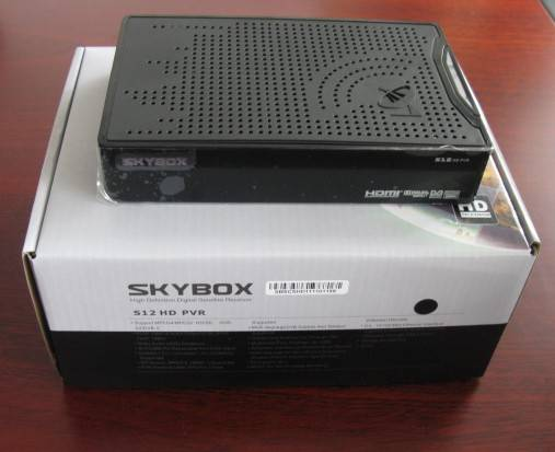 2012 New HD satellite receiver openbox/skybox S12