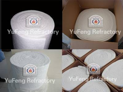 Ceramic Fiber Blanket 1100c (2012F) to 1430c (2600F) .