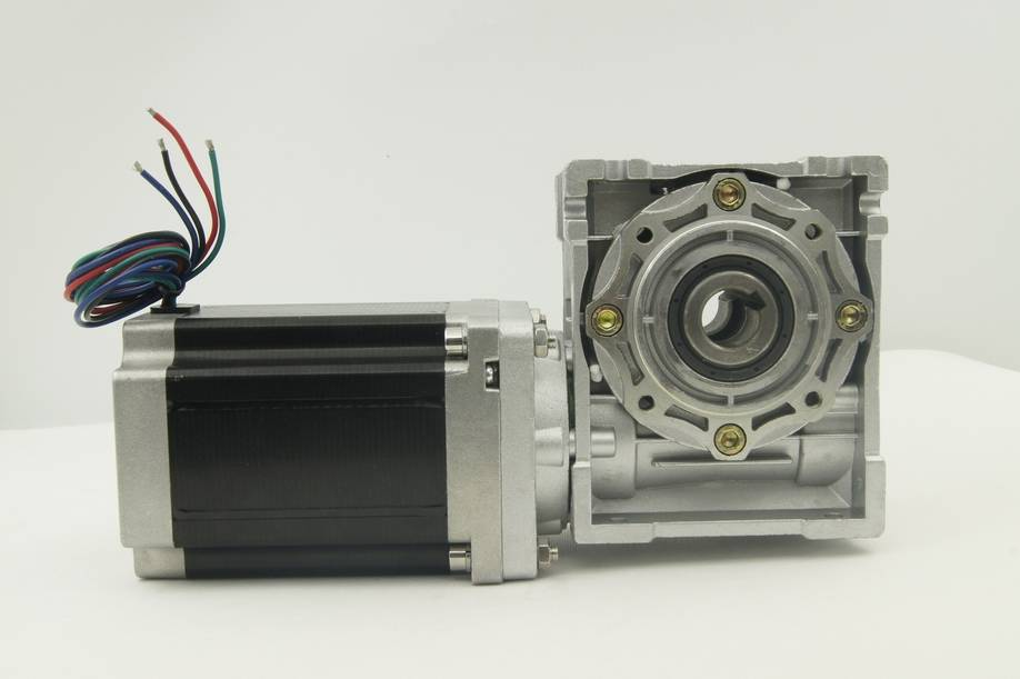 NEMA 34 Worm Geared stepper motor