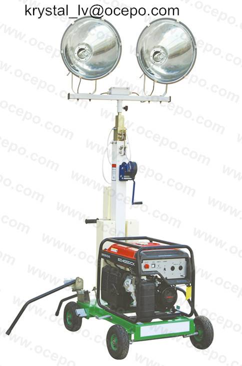 Generator Light Tower Outdoor lighting