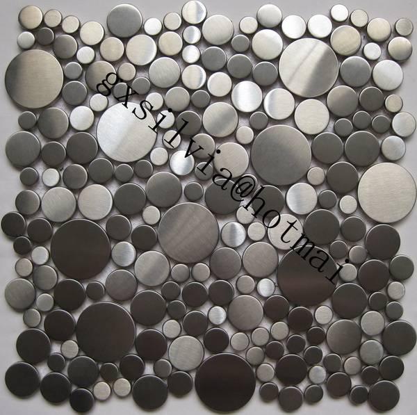 pebble metal tiles
