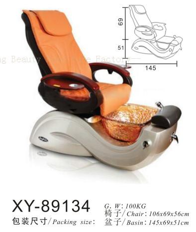Salon Spa Pedicure Chair Fibreglass Sink XY-89134