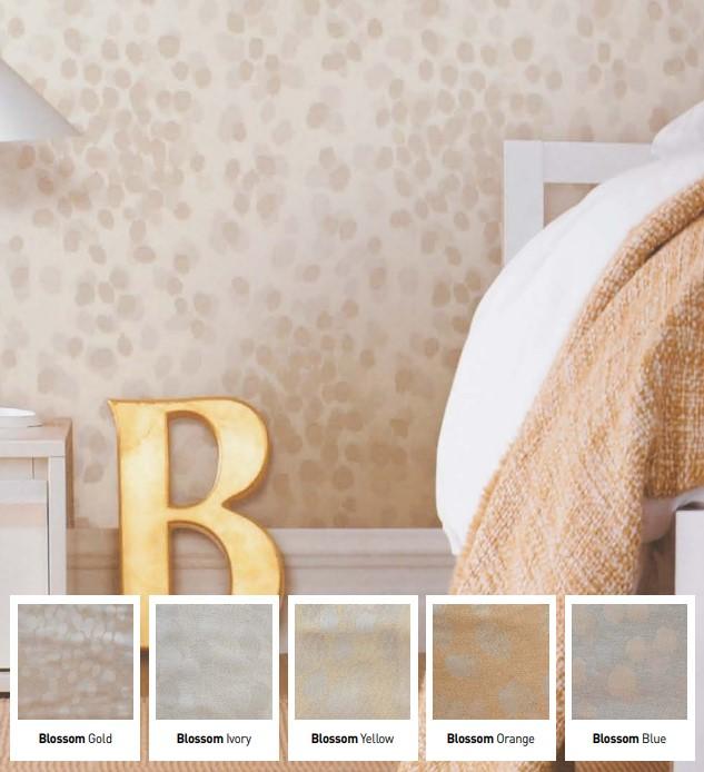 textile wallpaper (3 kinds)
