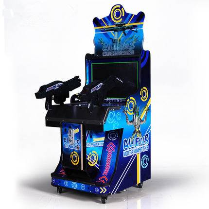 Coin Operated 22LCD Aliens Shooting Game Machine