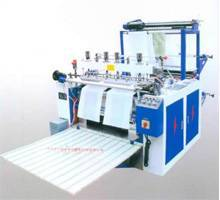 Double Computer-Controlled Automatic Hot-Sealing and Hot-Cutting Bag Maker