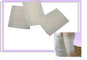 Adhesive Nonwoven Wound Dressing