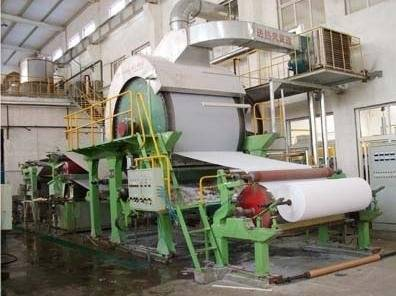 1575Mm Complete Set Toilet Paper Making Line And Toilet Paper Machine