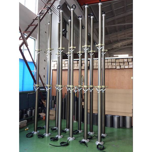 4.5m CCTV pneumatic telescopic mast