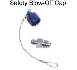 Nitrous Bottle Racer Safety Blow Off Adapter