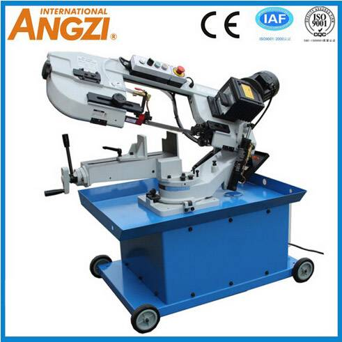 Easy to carry Angle 90 degree or 45 degree band saw machine for metal and wood