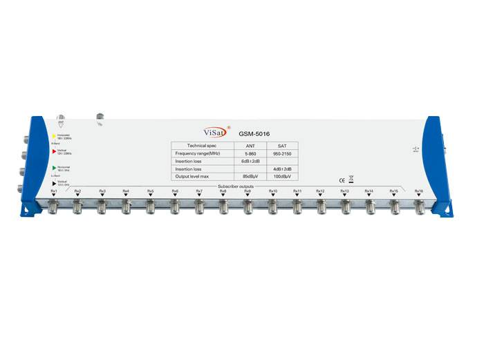 5 in 16 Sat Multiswitch
