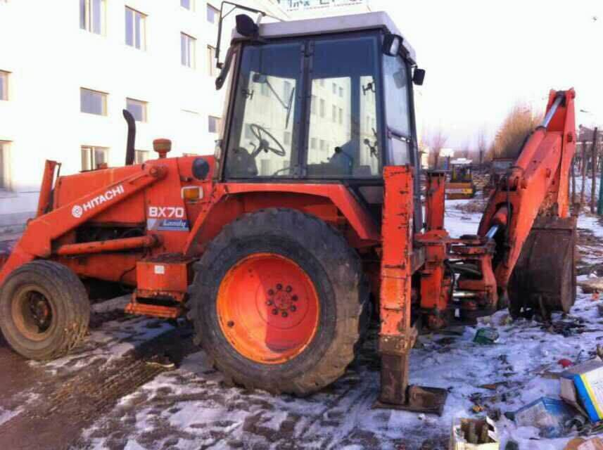 Used hitachi backhoe hitahchi BX70 backhoe loader