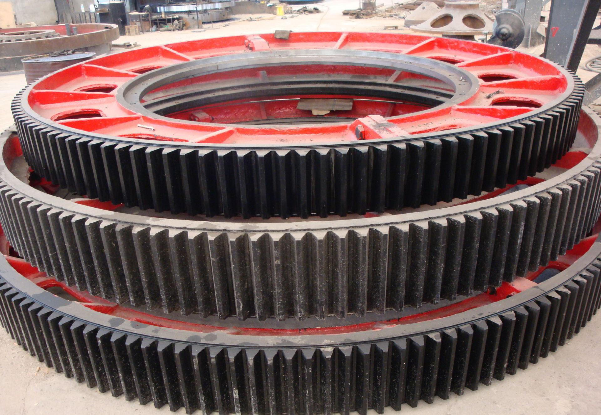 big gear wheel, Large Casting Spur Gear Wheel for Ball Mill