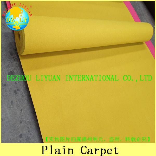 100% polyester nonwoven needle punch exhibition carpet