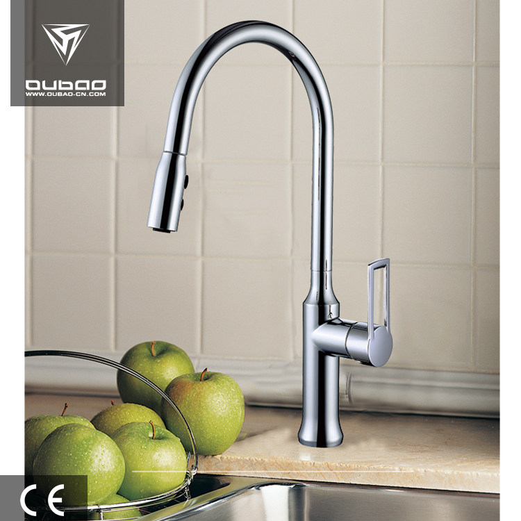 Hot Sale 2 Function Pull Out System Single Handle Kitchen Faucet Tap
