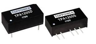 1W Isolated Single and Dual Output DC/DC Converters