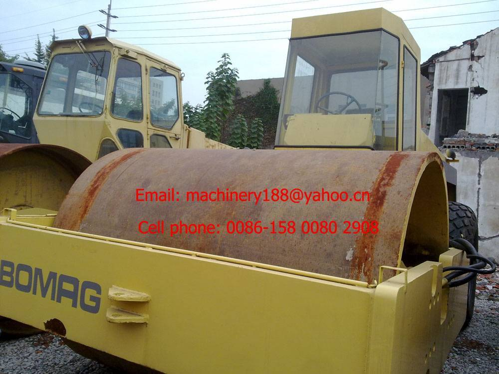 Used road roller BOMAG BW217D,used vibratory roller