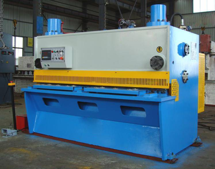 CNC Hydraulic Guillotine Shearing MachineQC11K-25X2500